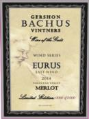 2014 Eurus Merlot | Item No. 411229